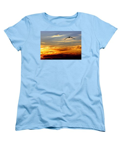 Women's T-Shirt (Standard Cut) featuring the photograph Fly Free by Faith Williams