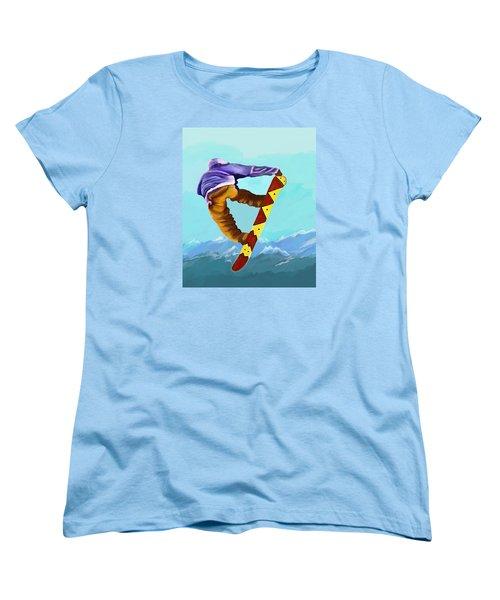 Flying High Women's T-Shirt (Standard Cut) by Jeanne Fischer