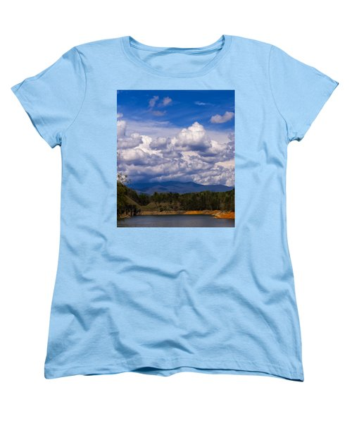 Fontana Lake Storm 2 Women's T-Shirt (Standard Cut)