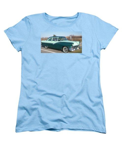 Ford Mercury Women's T-Shirt (Standard Cut) by Eric  Schiabor