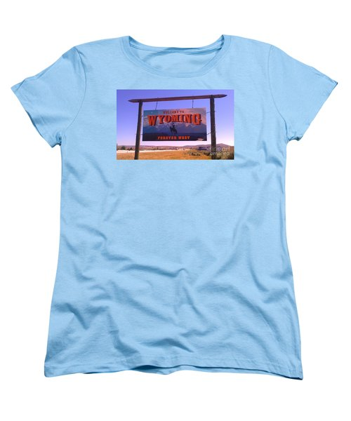Forever West Women's T-Shirt (Standard Cut) by Chris Tarpening