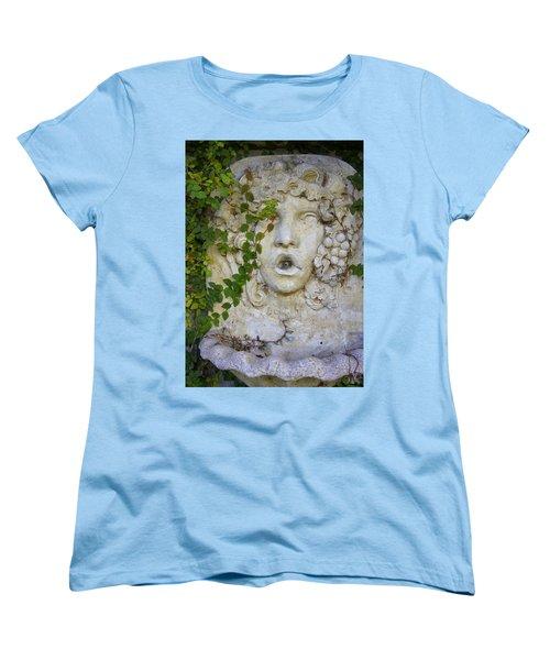 Forgotten Garden Women's T-Shirt (Standard Cut) by Laurie Perry
