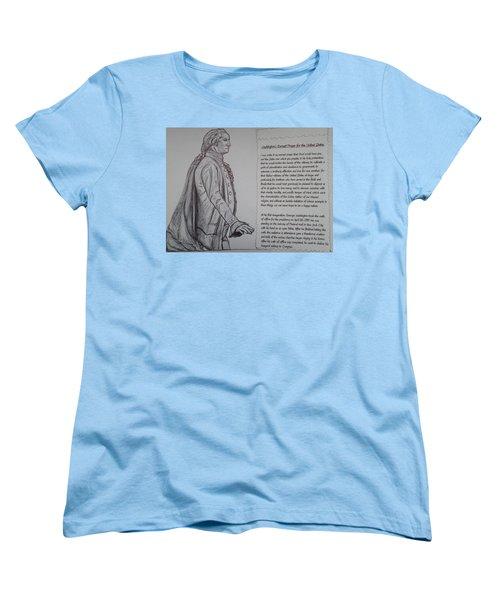 Founding Fathers Women's T-Shirt (Standard Cut) by Christy Saunders Church