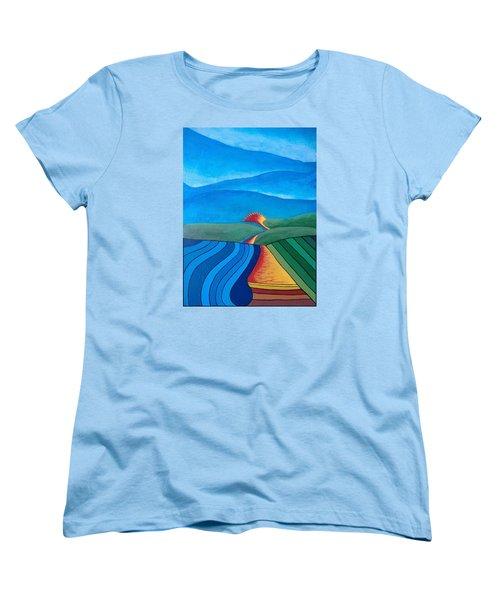 Fountain Inn Women's T-Shirt (Standard Cut) by Steve  Hester