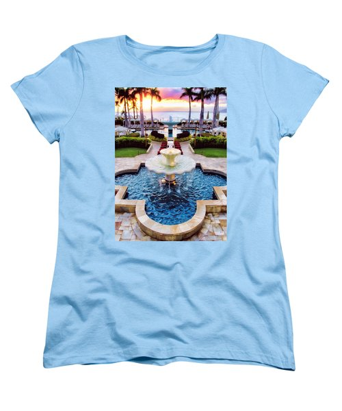 Four Seasons 50 Women's T-Shirt (Standard Cut) by Dawn Eshelman