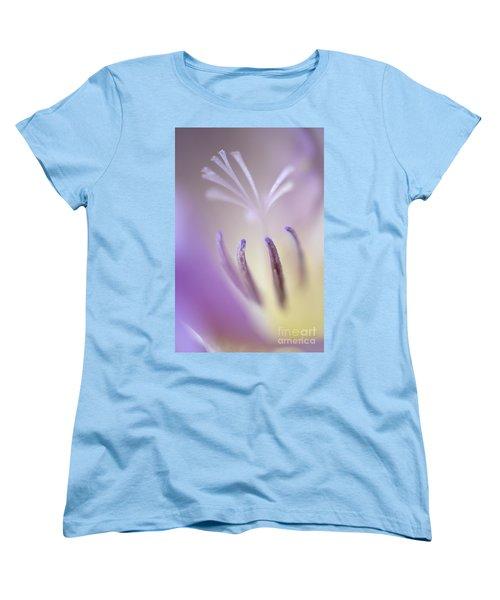 Fragrant Freesia  Women's T-Shirt (Standard Cut) by Deb Halloran
