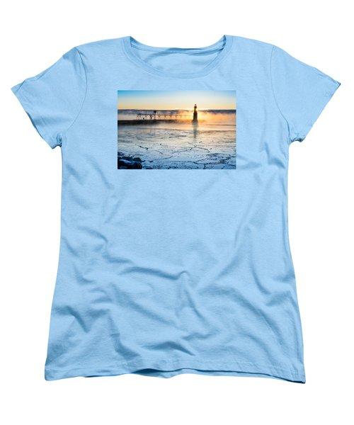Frigid Sunrise Fog  Women's T-Shirt (Standard Cut)