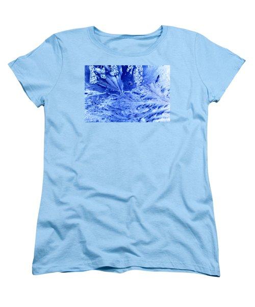 Women's T-Shirt (Standard Cut) featuring the digital art Frocean by Richard Thomas