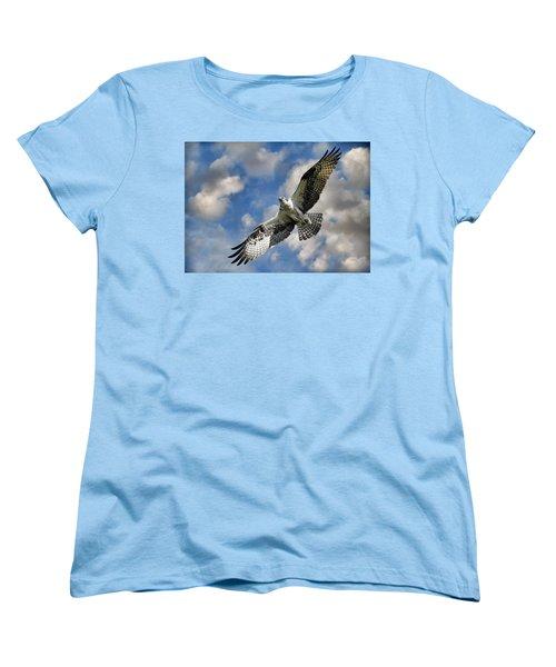 From The Clouds Women's T-Shirt (Standard Cut) by Steve McKinzie