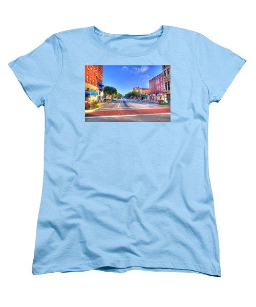 Front Street Marietta Women's T-Shirt (Standard Cut) by Jonny D