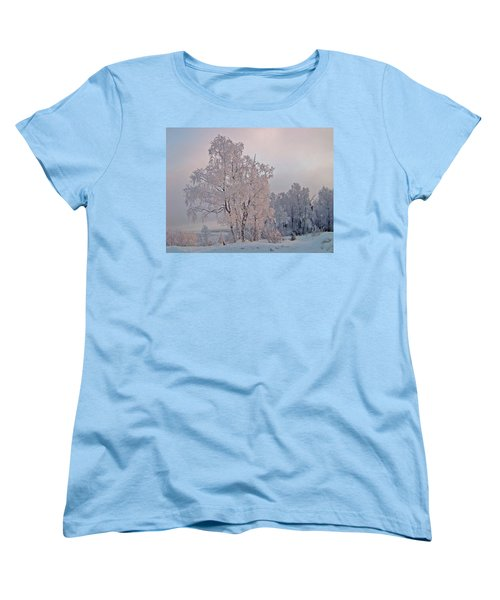 Women's T-Shirt (Standard Cut) featuring the photograph Frozen Moment by Jeremy Rhoades
