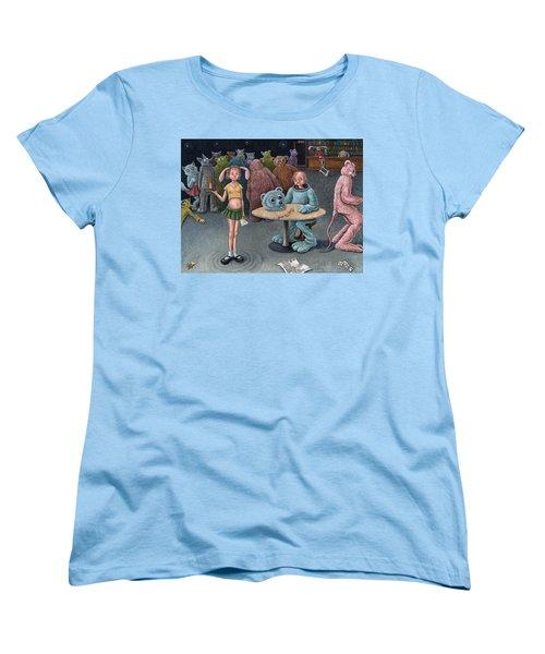 Furry Bar Women's T-Shirt (Standard Cut) by Holly Wood