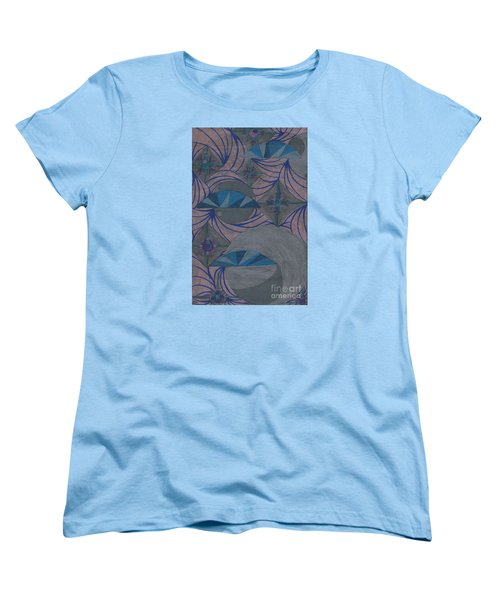 Women's T-Shirt (Standard Cut) featuring the drawing Galactic by Kim Sy Ok