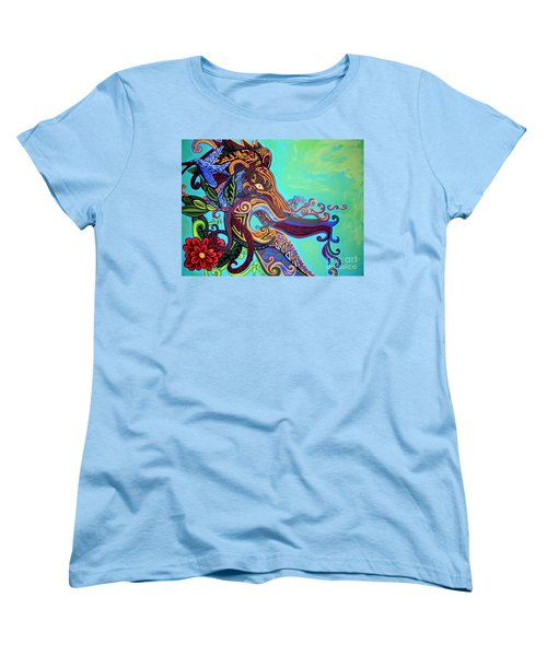 Gargoyle Lion 3 Women's T-Shirt (Standard Cut) by Genevieve Esson