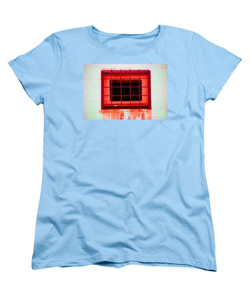 Women's T-Shirt (Standard Cut) featuring the photograph Gated Community by Christiane Hellner-OBrien