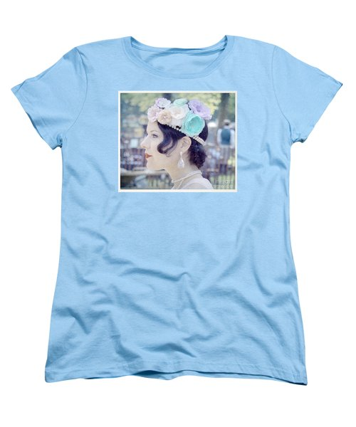 Gatsby Girl  Women's T-Shirt (Standard Cut) by Lilliana Mendez
