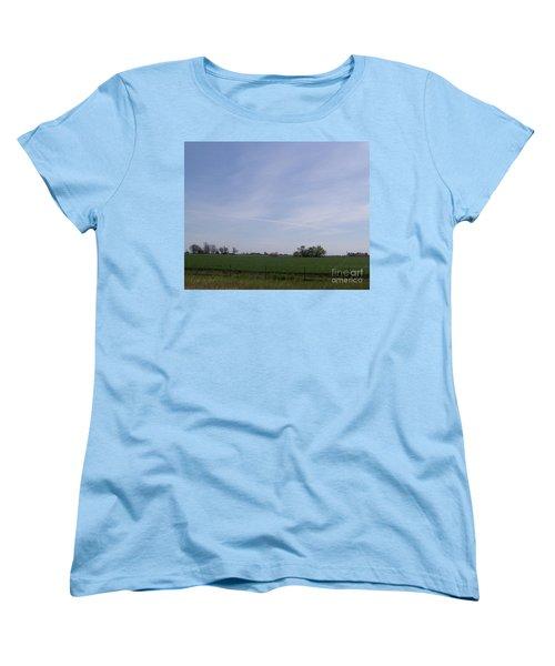Women's T-Shirt (Standard Cut) featuring the photograph Generations by Bobbee Rickard