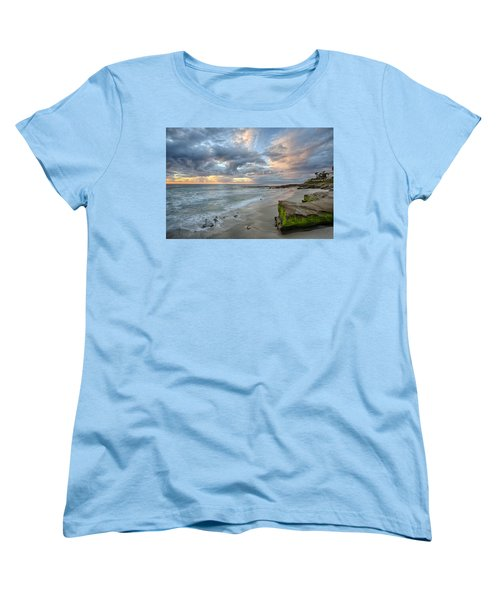 Gentle Sunset Women's T-Shirt (Standard Cut) by Peter Tellone