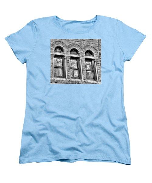 Ghosts Women's T-Shirt (Standard Cut) by Mark Alder