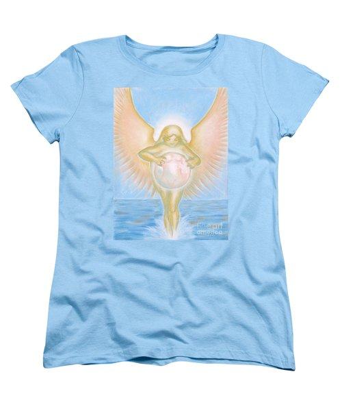 Gift Of The Golden Goddess Women's T-Shirt (Standard Cut) by Samantha Geernaert