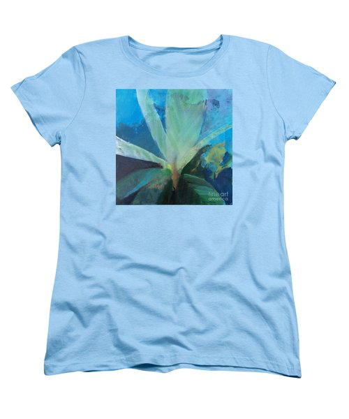 Women's T-Shirt (Standard Cut) featuring the painting Ginger Tea by Robin Maria Pedrero