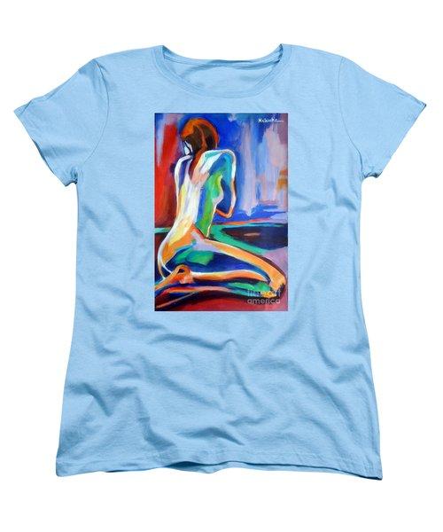 Gleam Women's T-Shirt (Standard Cut) by Helena Wierzbicki