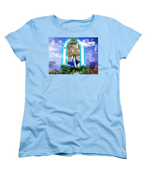 Glory Portal  Women's T-Shirt (Standard Cut) by Dolores Develde