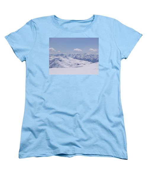 Women's T-Shirt (Standard Cut) featuring the photograph Gods Country by Brian Williamson