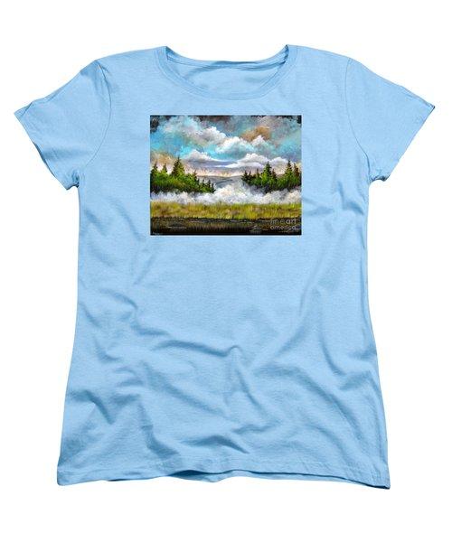 Going Home Women's T-Shirt (Standard Cut) by Patrice Torrillo