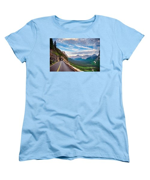 Going To The Sun Women's T-Shirt (Standard Cut) by Renee Sullivan
