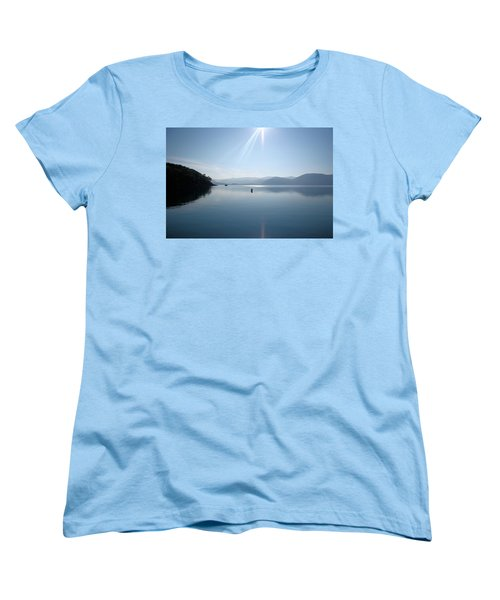 Women's T-Shirt (Standard Cut) featuring the photograph Gokova Bay  by Tracey Harrington-Simpson