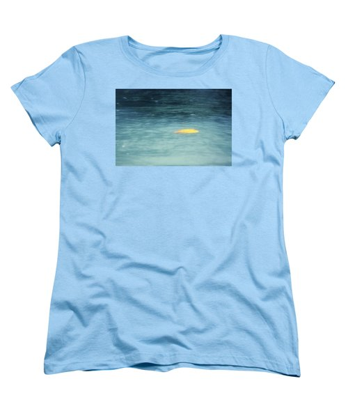 Women's T-Shirt (Standard Cut) featuring the photograph Golden Reflections by Melanie Lankford Photography