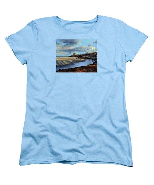 Good Harbor Beach Gloucester Women's T-Shirt (Standard Cut) by Eileen Patten Oliver