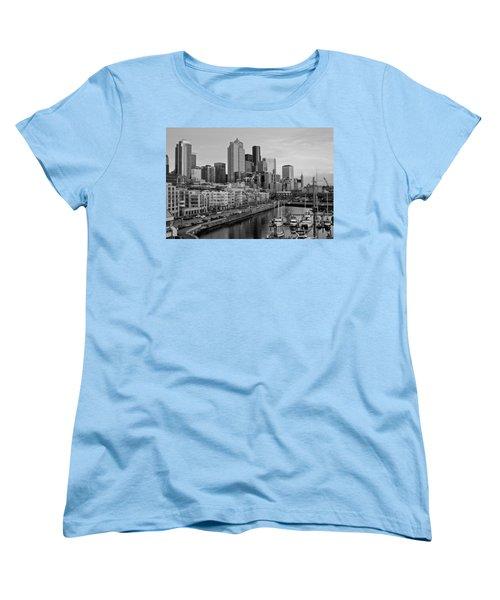Gracefully Urban Women's T-Shirt (Standard Cut) by Mike Reid