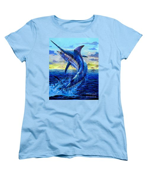 Grander Off007 Women's T-Shirt (Standard Cut) by Carey Chen