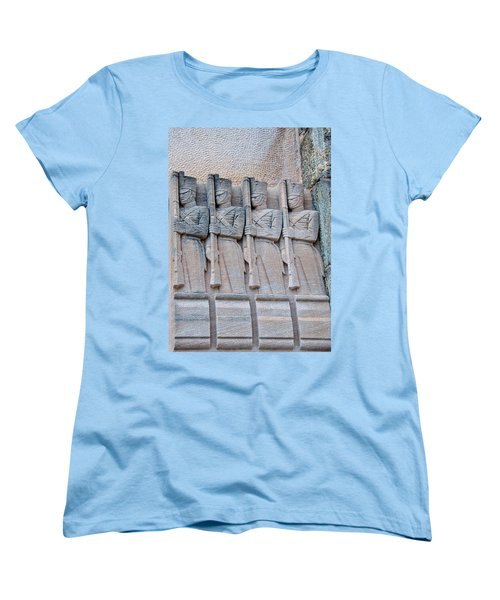 Grant Hall Cadet Fresco Women's T-Shirt (Standard Cut) by Dan McManus