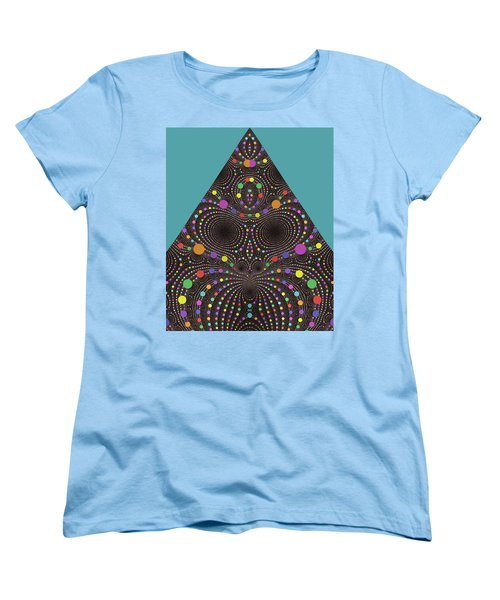 Women's T-Shirt (Standard Cut) featuring the digital art Gravity And Magnetism by Mark Greenberg