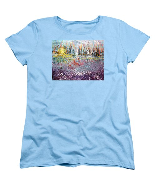 Great Day In Chicago - Sold Women's T-Shirt (Standard Cut) by George Riney
