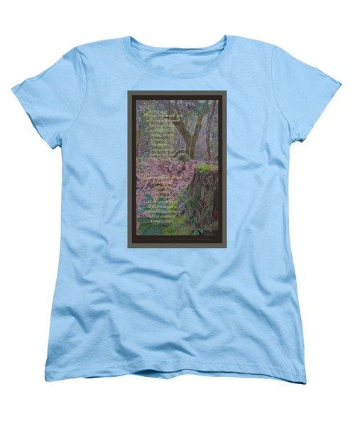 Women's T-Shirt (Standard Cut) featuring the photograph Grow Old With Me by Brooks Garten Hauschild