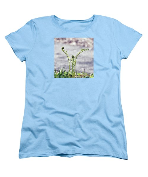 Women's T-Shirt (Standard Cut) featuring the photograph Growing  by Kerri Farley