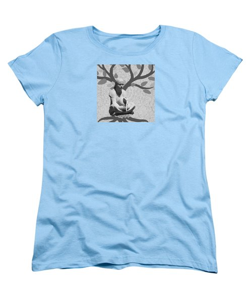 Women's T-Shirt (Standard Cut) featuring the photograph Guardian Of The Tree Of Life by I'ina Van Lawick