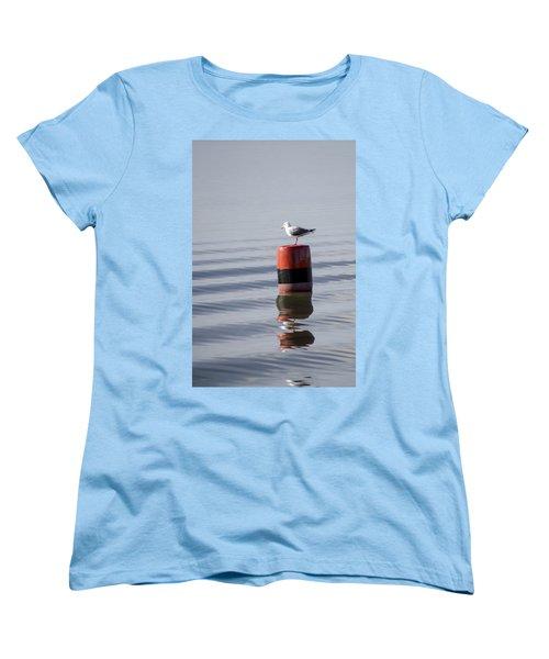 Gull Women's T-Shirt (Standard Cut) by Spikey Mouse Photography