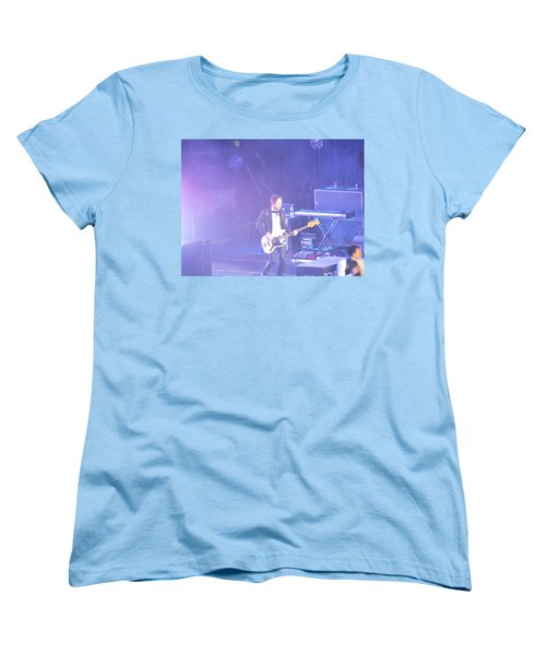Women's T-Shirt (Standard Cut) featuring the photograph Gutair Player For Royal Taylor by Aaron Martens