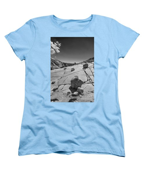 Half Dome From Olmsted Point Women's T-Shirt (Standard Cut) by Terry Garvin