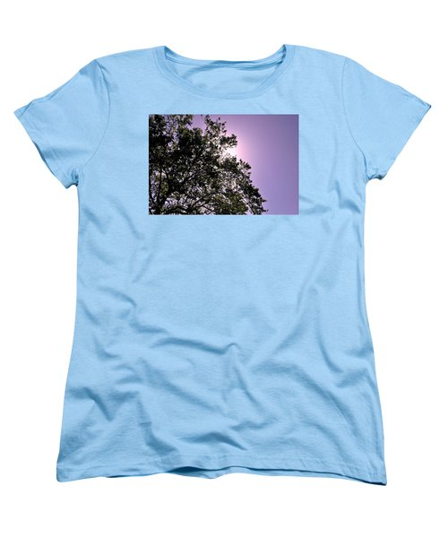 Half Tree Women's T-Shirt (Standard Cut) by Matt Harang