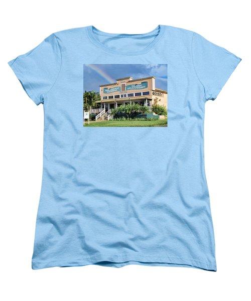 Women's T-Shirt (Standard Cut) featuring the photograph Haliimaile General Store 1 by Dawn Eshelman