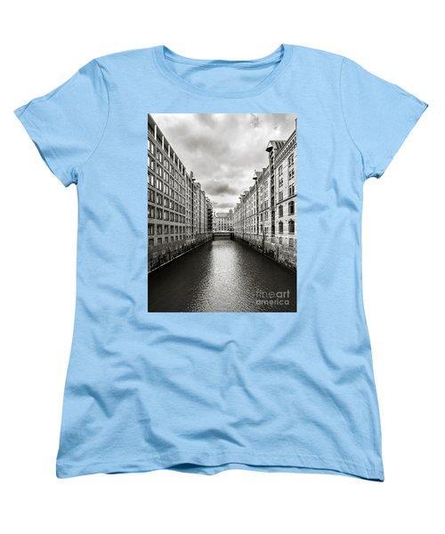 Hamburg Speicherstadt Women's T-Shirt (Standard Cut) by Daniel Heine