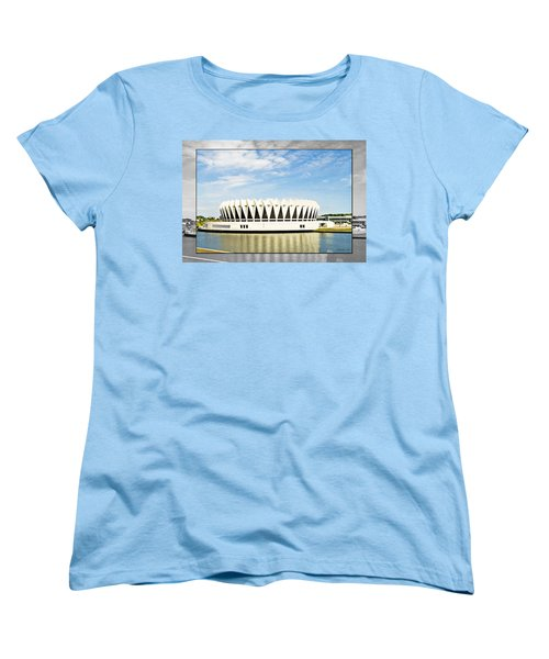 Hampton Coliseum Women's T-Shirt (Standard Cut) by Walter Herrit