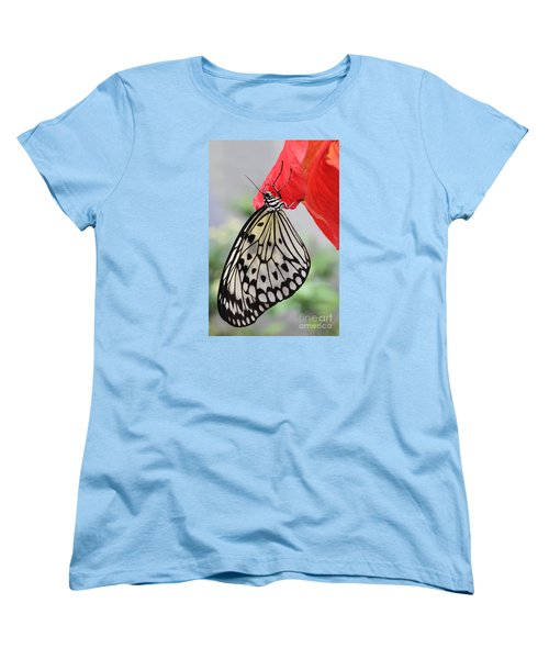 Women's T-Shirt (Standard Cut) featuring the photograph Hanging On #2 by Judy Whitton