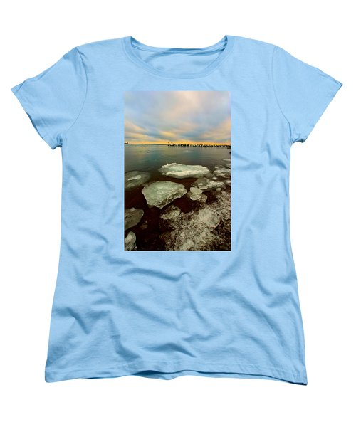 Women's T-Shirt (Standard Cut) featuring the photograph Hanging On by Amanda Stadther